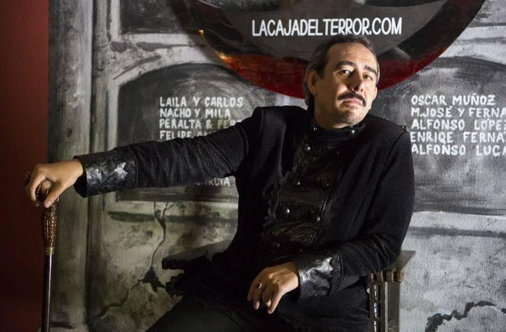 Raúl de Tomás en 'La noche de los vampiros'