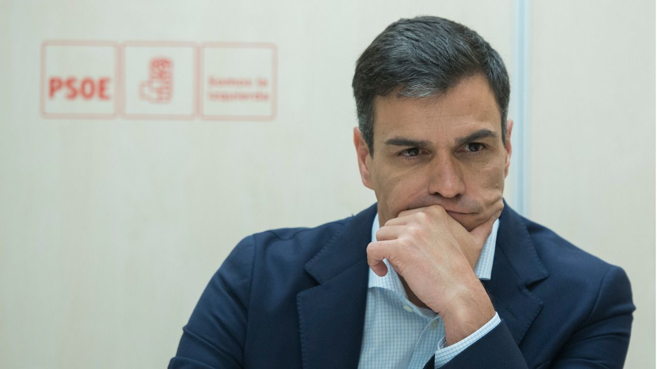 Pedro Sánchez, líder del PSOE.
