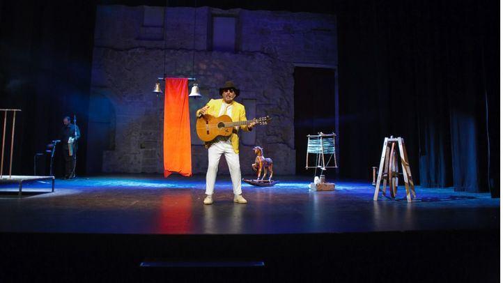 Gabriel Calvo, la tradición de la música de los pueblos llevada a escena