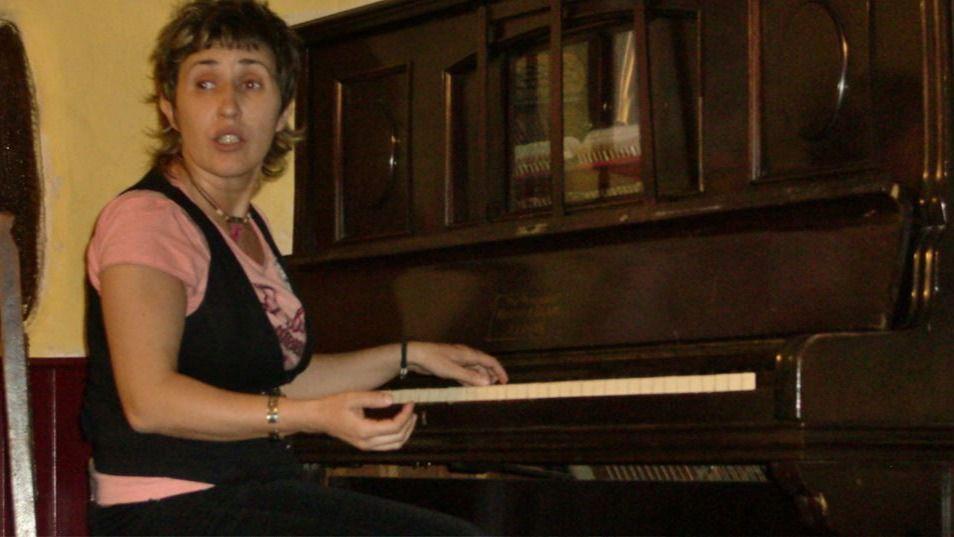 Laura Granados en una actuación anterior en Libertad 8