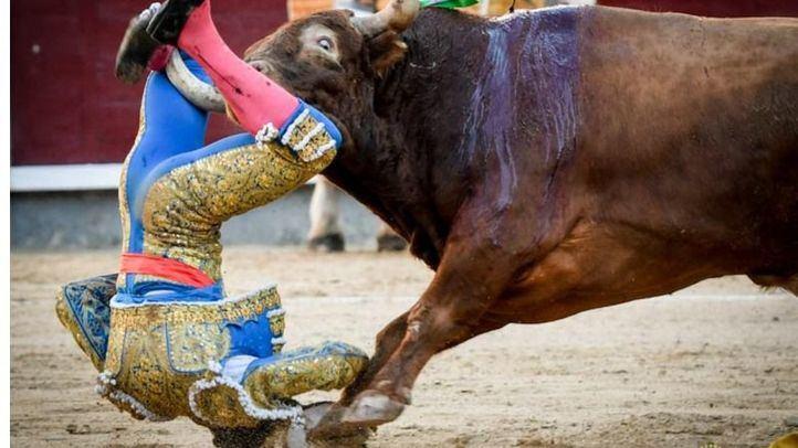 Otra cornada grave: herido Sebastián Ritter y oreja al poso de Eugenio de Mora