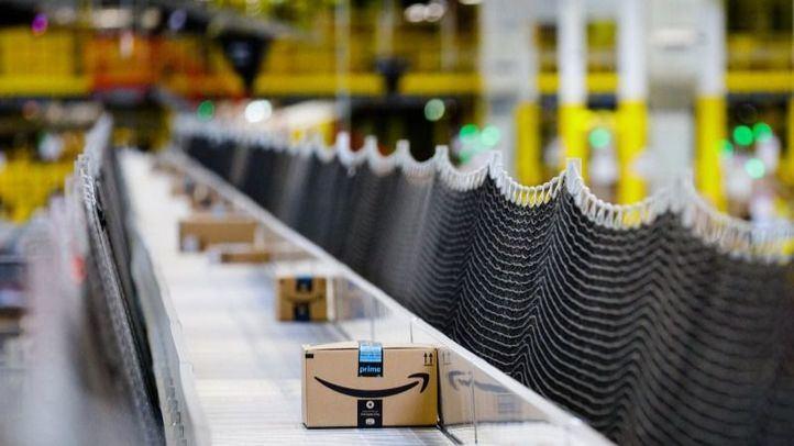Descartada la amenaza de bomba en la sede de Amazon en Madrid, que fue desalojada