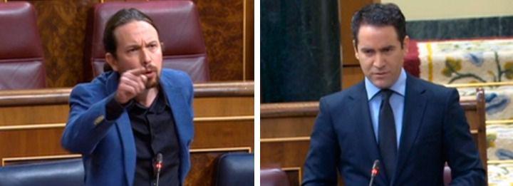 Iglesias acusa al PP de llamar a la insubordinación de cuerpos y fuerzas de seguridad