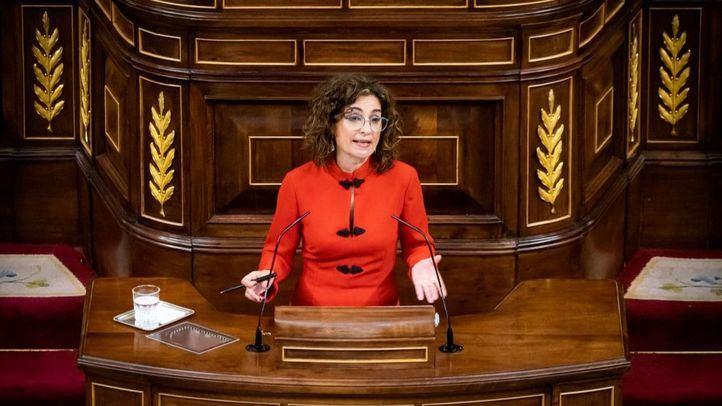 Ministra de Hacienda y Función Pública, María Jesús Montero