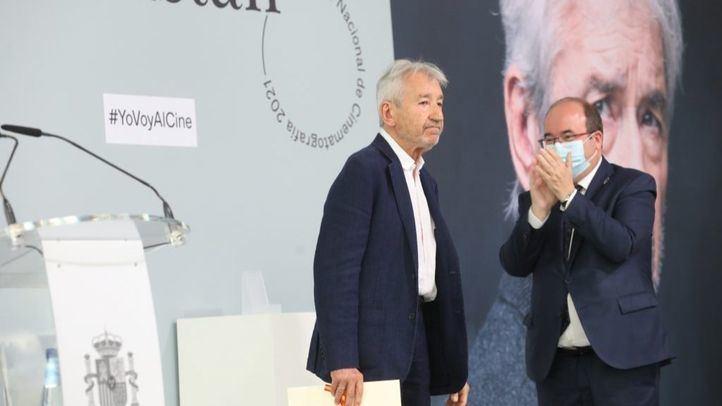 El aclamado discurso de José Sacristán al recoger el Premio Nacional de Cinematografía