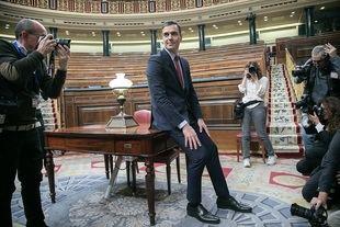 Sánchez asegura formar un gobierno de 22 ministros para 'unir al país'