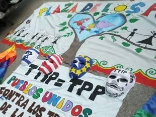 Manifestación contra el TTIP y el CETA