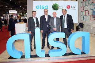 Alsa y LG se alían para reducir las emisiones contaminantes y plantar un árbol por cada habitante en España al año.
