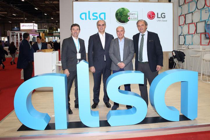 Alsa se une al Reto Smart Green de LG en España