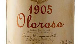 1905 Solera Fundacional Pérez Baquero, el mejor vino del mundo