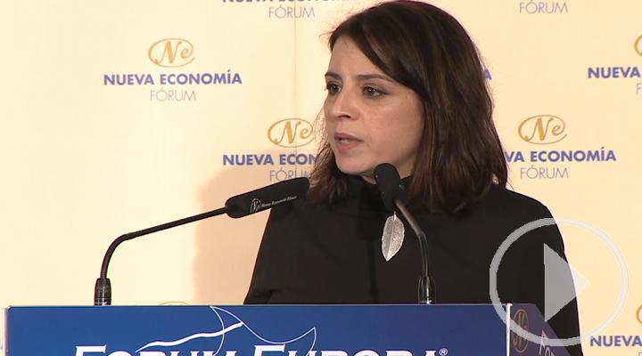 Adriana Lastra contra el 'dumping' fiscal de Madrid