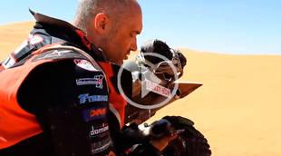 El madrileño Alberto Prieto, primer piloto en correr un Dakar con un solo brazo