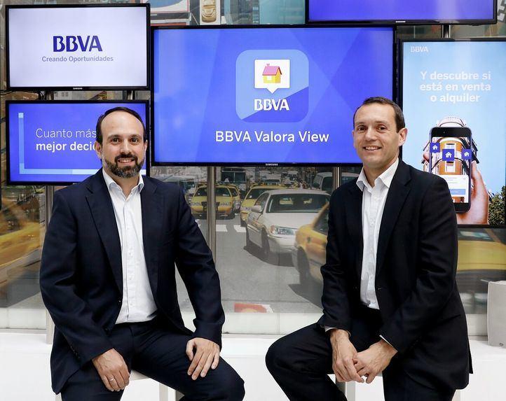 Manuel Moure, diector de Productos Digitales de BBVA España y Gabriel González Gil, responsable de Producto Digital de BBVA España.