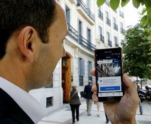 BBVA presenta la primera app que permite buscar vivienda a través de realidad aumentada