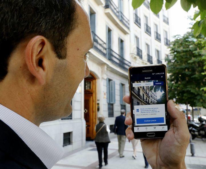 Imagen de la aplicación BBVA Valora View