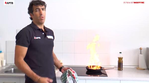 Prevención de incendios: ¿Qué hacer si se te incendia la cocina?