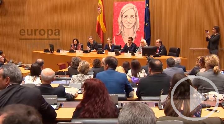 Homenaje a Carmen Chacón en el Congreso de los Diputados