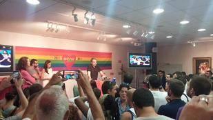 Dirigentes del PSM conmemoran el décimo aniversario de la ley del matrimonio homosexual con Rodríguez Zapatero