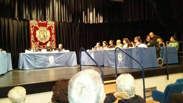 Pleno constitutivo de la Junta de Moratalaz.
