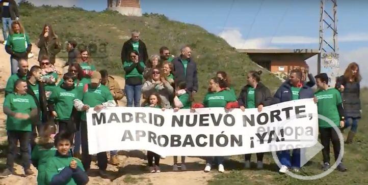 Vecinos de Chamartín piden el comienzo de las obras de Madrid Nuevo Norte