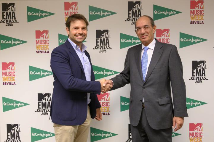 El Corte Inglés apoya los MTV EMAs Sevilla 2019, la cita musical más importante de Europa