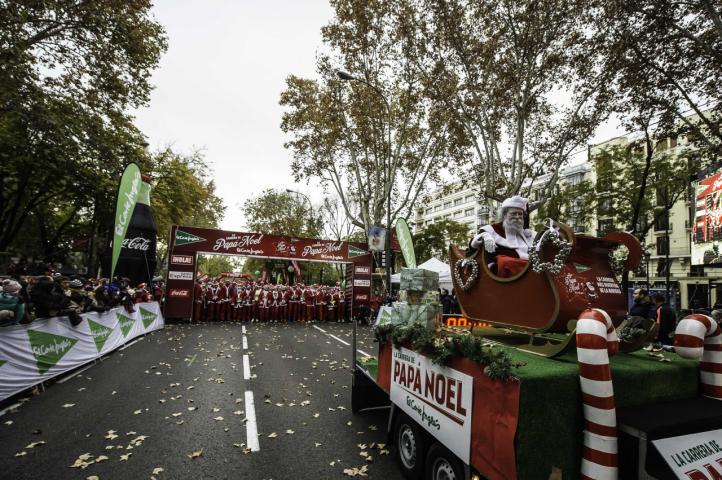 La VII Carrera de El Corte Inglés Papá Noel arrancará el domingo 9 de diciembre en Madrid
