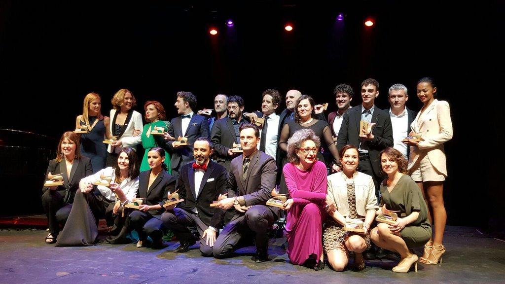 Cuatro triunfadores en los Premios de la Unión de Actores