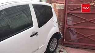 Imagen del coche que ha arrollado al menor.