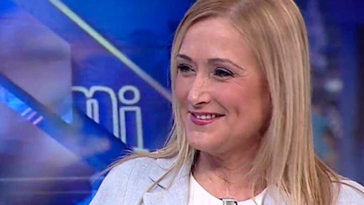 Cristina Cifuentes envió un SMS a Rajoy, dictado por Pablo Motos invitándole al programa