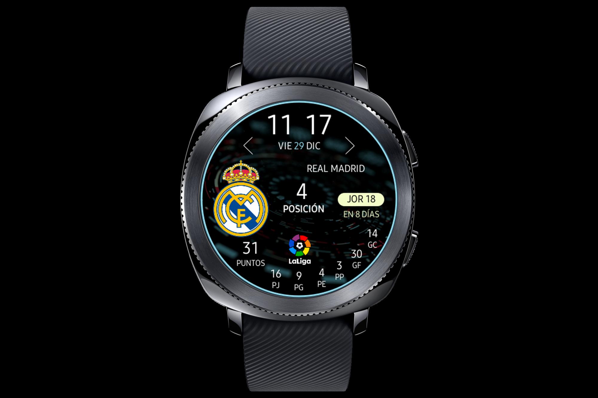 Samsung anuncia la nueva esfera de LaLiga para sus smartwatches