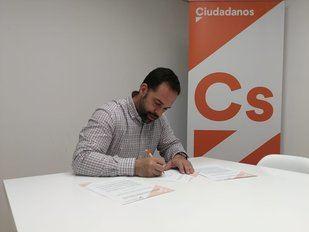 Carlos Jiménez Rodrigo, portavoz de Cs en Arganda del Rey.