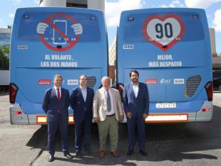 Alsa, DGT y Fundación Mapfre, unidos para alertar del exceso del velocidad