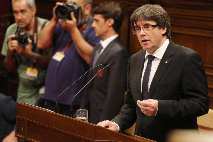 Carles Puigdemont fue detenido cuando cruzaba la frontera alemana