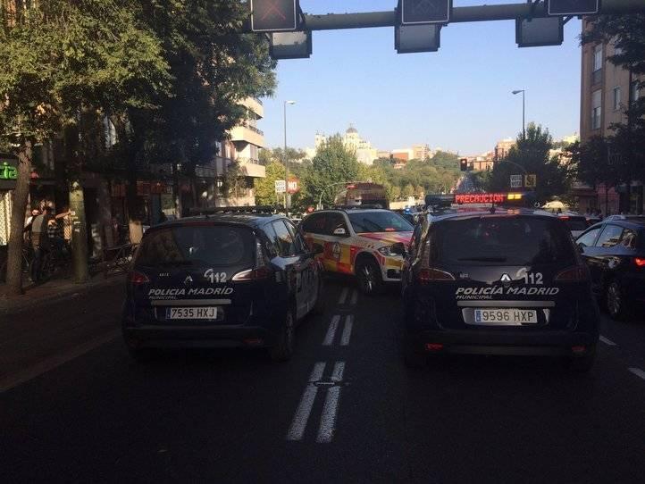 Atropello en el Paseo de Extremadura