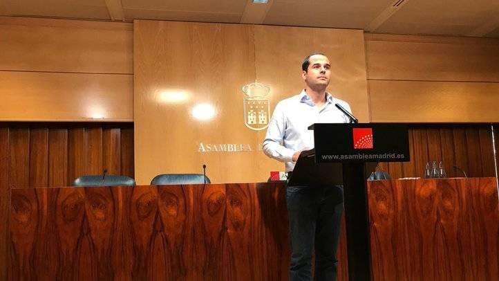 Ignacio Aguado, este martes
