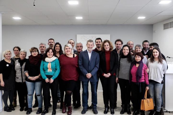 Rodríguez, con su equipo que formará el nuevo Consejo Ciudadano