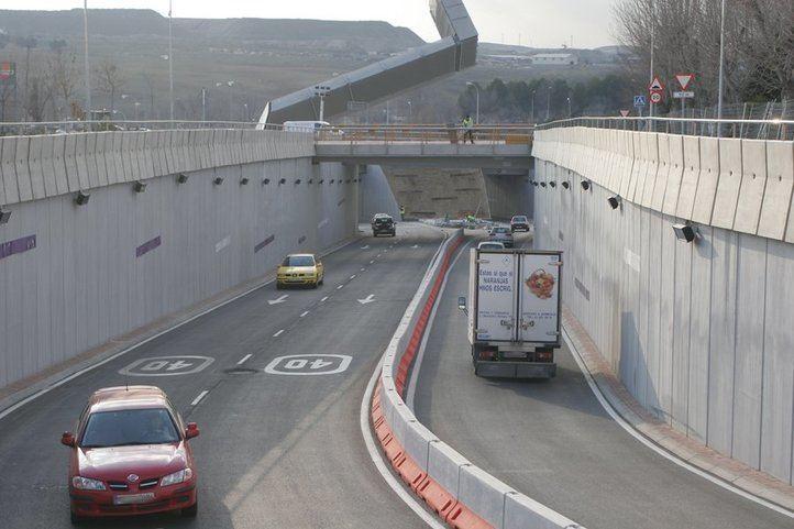 Cortado el acceso A-3 en Rivas
