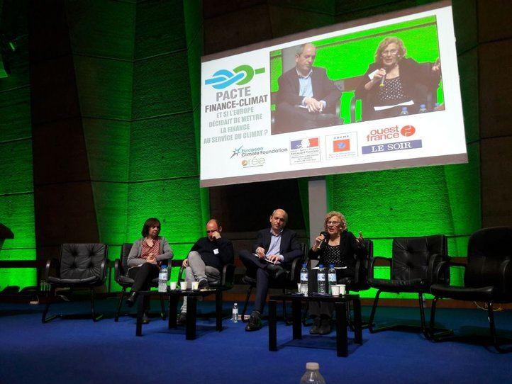 Manuela Carmena, en el congreso de la Unesco en París