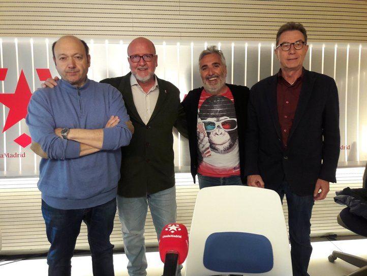 Los líderes de CCOO Madrid y UGT Madrid, en Com.Permiso.