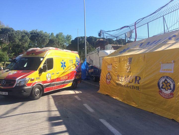 Balance de San Isidro: el Samur atendió a 250 personas