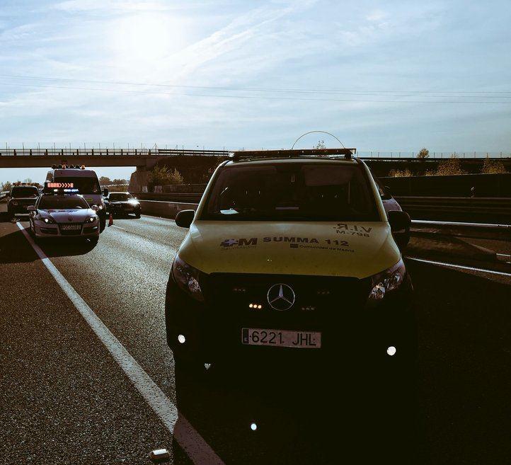 Dos accidentes en Zarzalejo dejan un motorista fallecido y otro grave