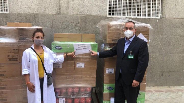 Mercadona dona pañales y alimentos a la Fundación Madrina