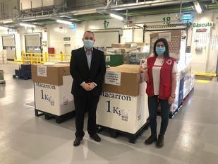 Mercadona dona a Cruz Roja Madrid 7,2 toneladas de alimentos