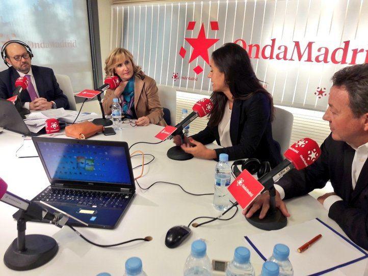Ciudadanos y PP, al unísono: 'Ahora Madrid miente con la bajada salarial'