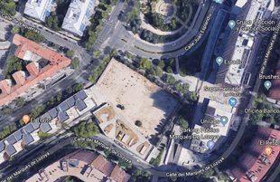 El espacio verde se ubicará entre las calles Alcalde Sainz de Baranda, Juan Esplandiú y Marqués de Lozoya.