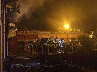 Incendio en un bar de Hortaleza