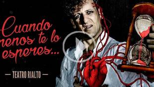 Edu Soto estrena 'Cuando menos te lo esperas' en el Rialto de Madrid