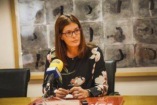 Noelia Posse, alcaldesa de Móstoles.