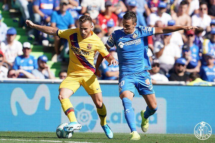El Barça se ha impuesto por dos goles a cero al Getafe en el Coliseum Alfonso Pérez.