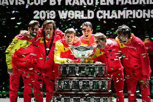 España conquista su sexta Copa Davis, que se ha disputado del 18 al 24 de noviembre en la Caja Mágica.